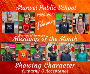 February SOS Mustangs of the Month