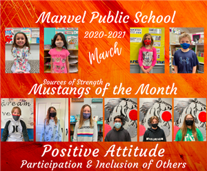 March Mustangs of the Month