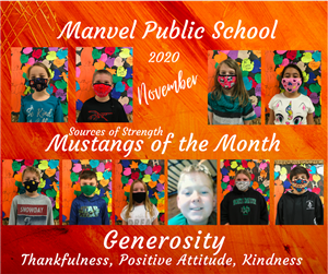 November Mustangs of the Month
