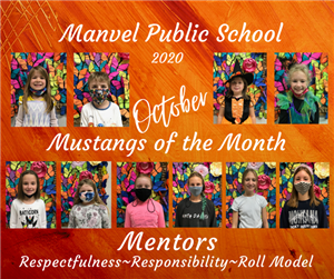October Mustangs of the Month
